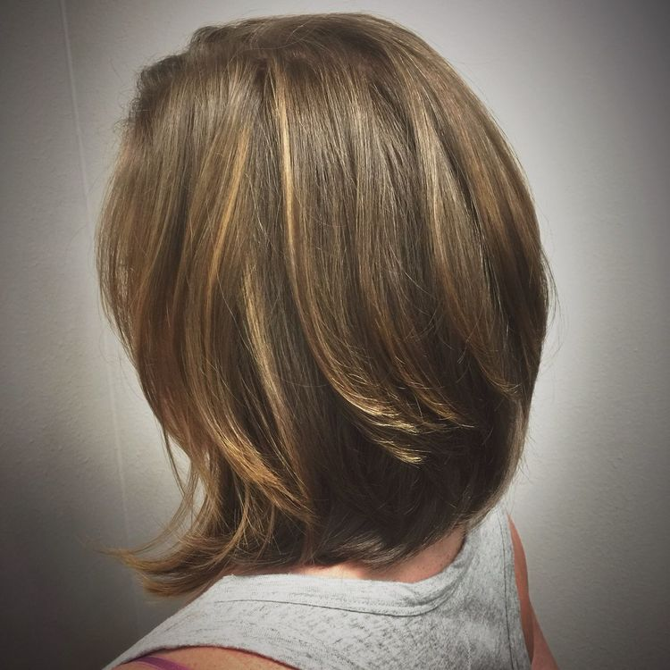 Beautiful Lob Haircut & Balayage Color @znevaehsalon Check This Out L'Oreal Professionnel Knoxvillesalon Z Nevaeh Salon Eye4photography # Photooftheday Haircut Hairstyle Haircut Right For You? Fashion TRENDING