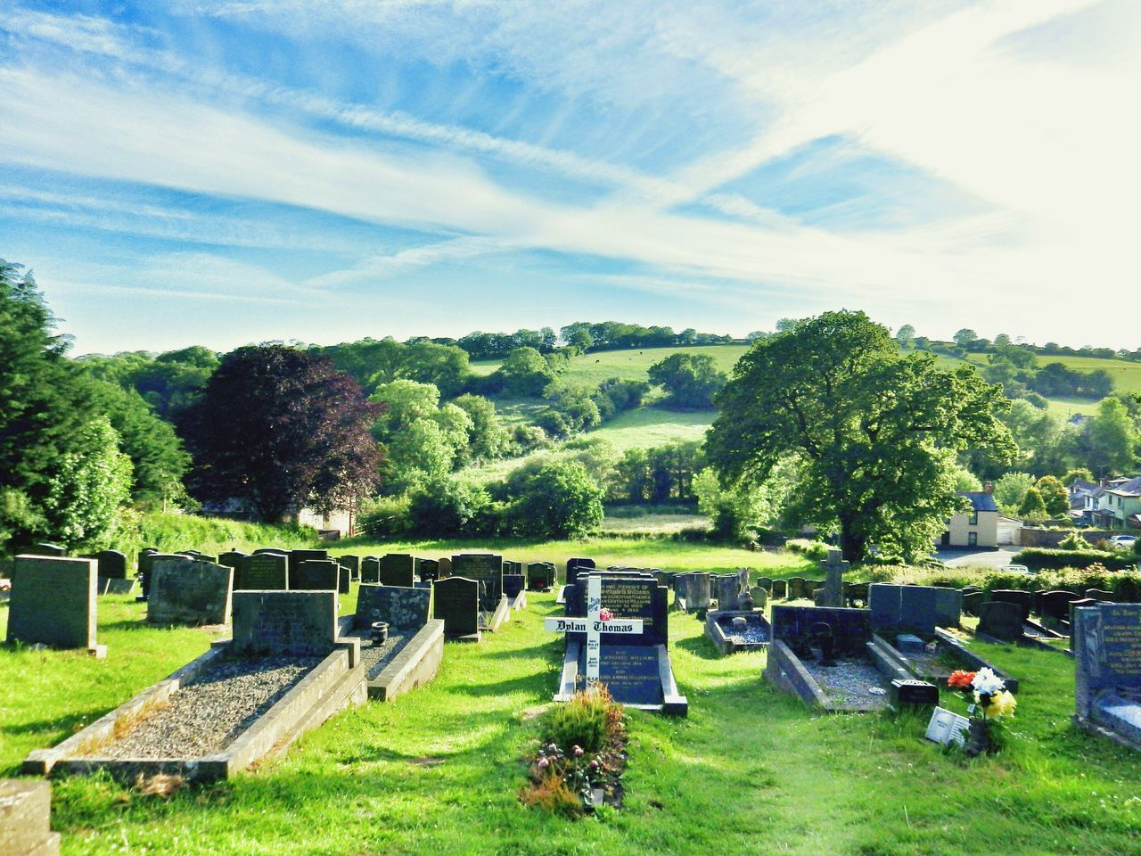 Wales Photography Taking Photos Check This Out Churchyard Graveyard DylanThomas Outdoors Countryside Oldtown