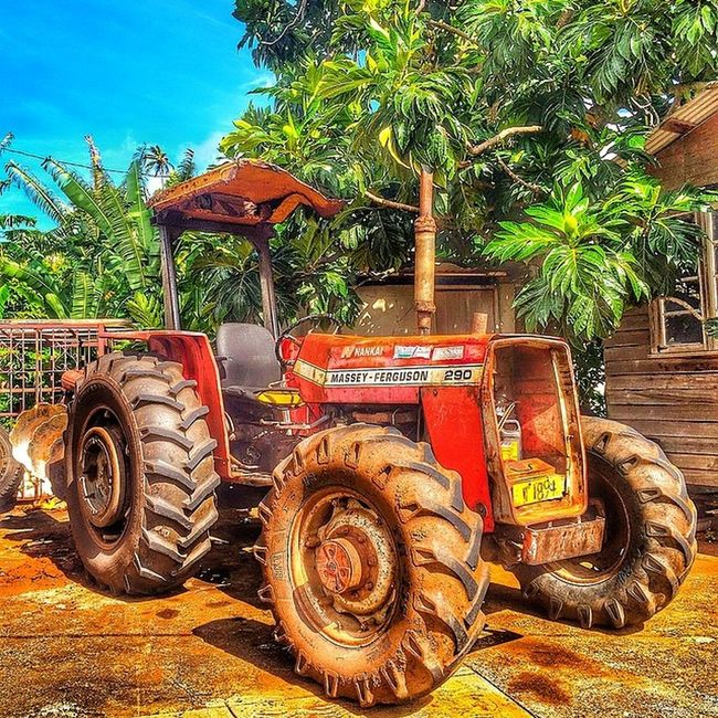 Ilivewhereyouvacation Tractor Plough Grenada Machinery Agriculture Islandlivity Ig_caribbean_sea Instagramhub Ig_caribbean Westindies_nature Westindies_color Wu_caribbean Hdrstylesgf Hdrzone Shootinhtheglobe Scenery Ourbestshot Allshots_