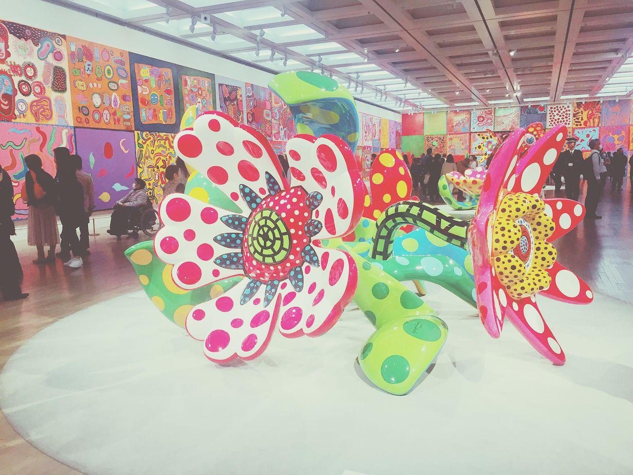 見応えたっぷりでしたー💓 Contemporary Art Contemporary Art Yayoi Kusama 草間彌生 Museum