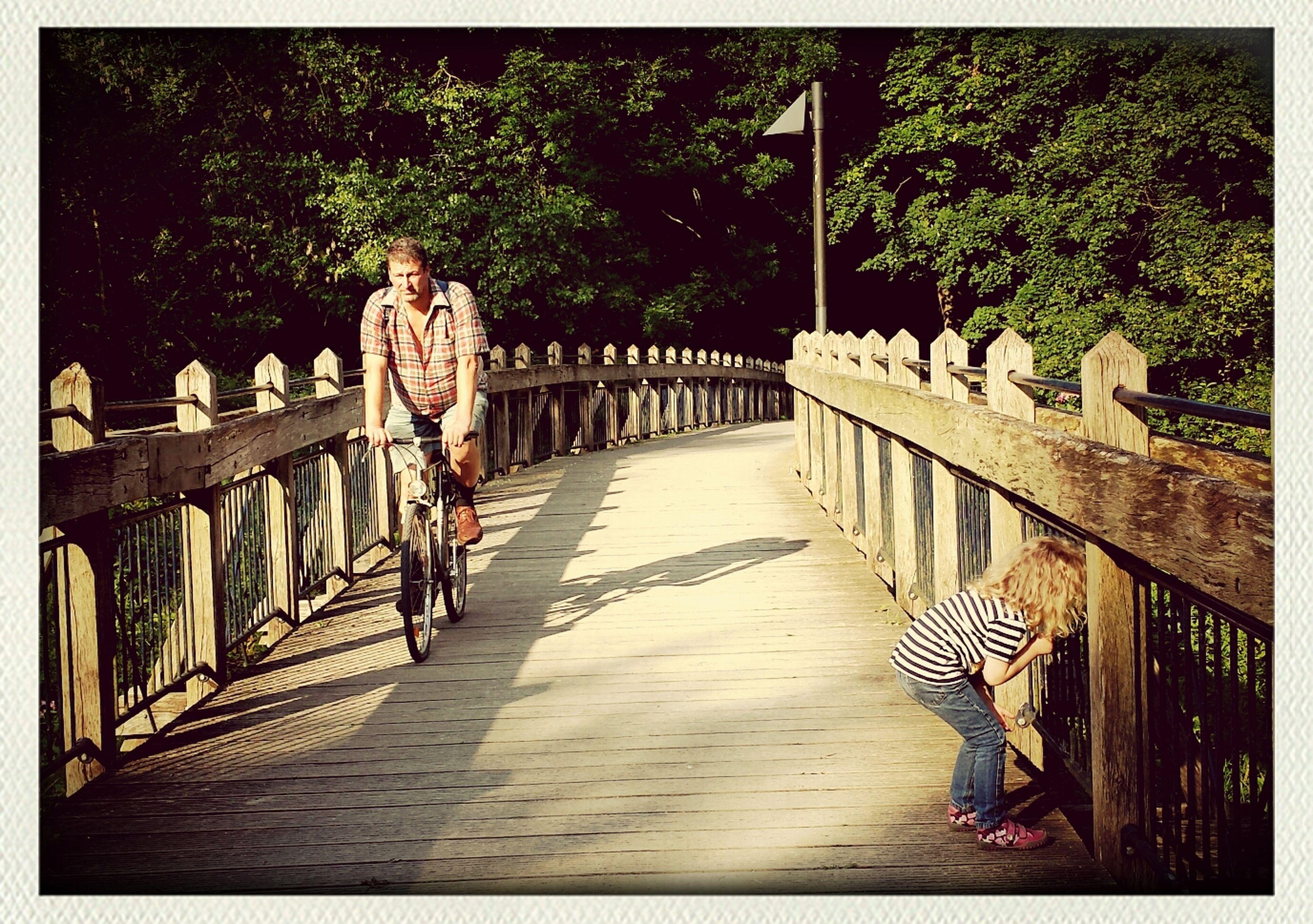 One Bridge, two Worlds