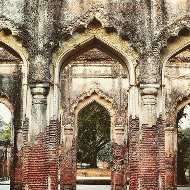The Residency , also called as the British Residency and Residency Complex. The Residency now exists in ruins and is located in the heart of the city, in vicinity of other monuments like Shaheed Smarak, Tehri Kothi and High Court Building. It was constructed during the rule of Nawab Saadat Ali Khan II , who was the fifth Nawab of the province of Awadh. The construction took place between 1780 to 1800 AD and served as the residence for the British Resident General who was a representative in the court of the Nawab. In 1857 the place witnessed a prolonged battle which is also known as Siege of Lucknow; this began on 1 July and continued until 17 November. ~Caption source:Wikipedia Lucknow 18th Century Residency Side Ruins Abandoned Nawab British India Complex Architecture Buildings Monuments Morning Sidewalk Photography Lumia Picoftheday Vscoedit Vscocam