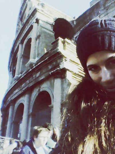 Rome Taking Photos Enjoying Life Relaxing Hello World Kolosseum