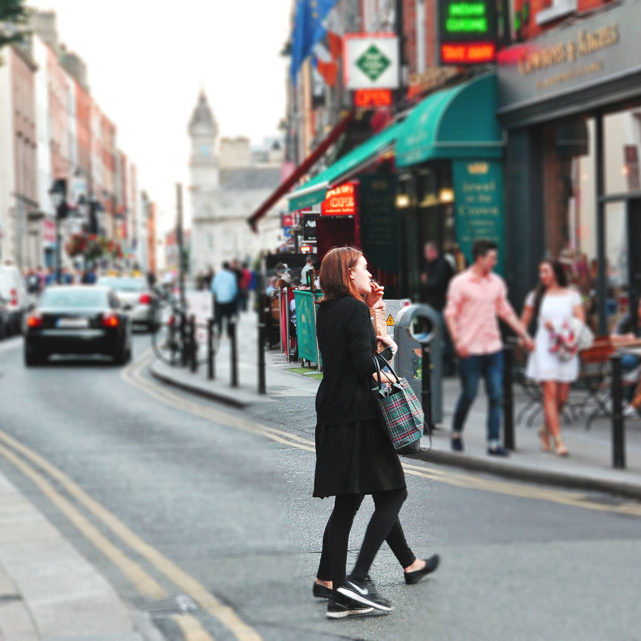 Beautiful stock photos of irland, street, road, full length, city