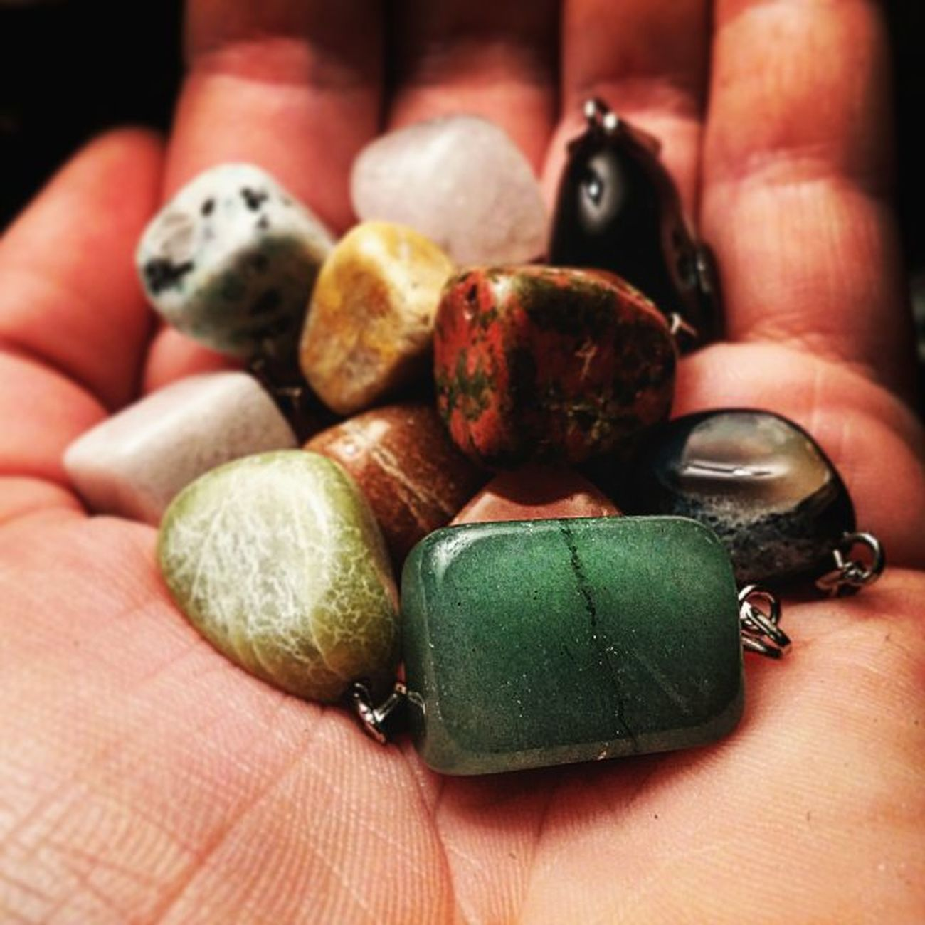 Stocked by the stones ! Stocked Stone Jewelrymaking Doingmythang bizoucarcajou bijou etsyshop inspiration production montreal pendentif pendant whatever swag hippie gypsy