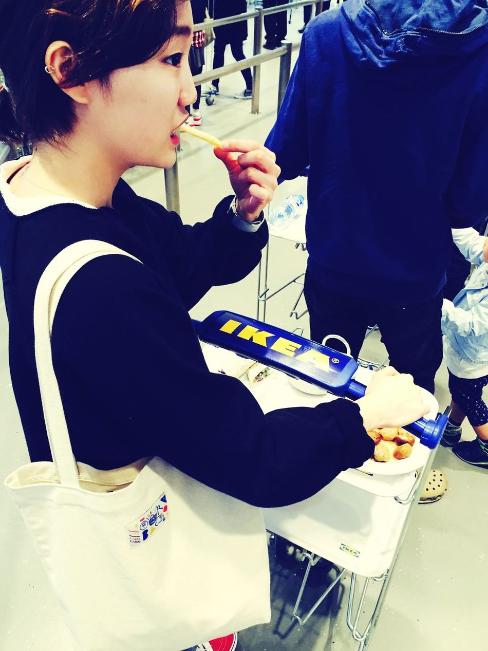 Friends Mafren..! IKEA French Restoran Sunny Day Goodday