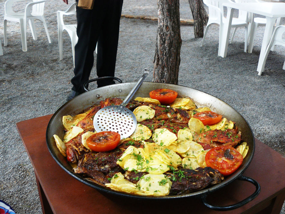 Day Fish Paella Food Food And Drink Freshness Healthy Eating Ibiza Low Section Meal Paella Ready-to-eat Serving Size