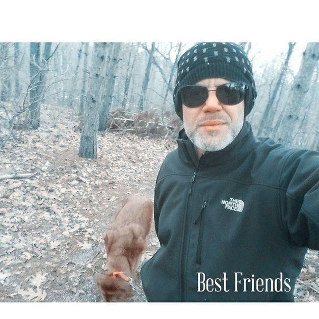 Daily Jog….. Bestfriends Goldenretriever TheNorthFace Beanie Woods Trails Exercise Jogging Burncalories Instakool Instagood Instacrush Instafollow Instalike