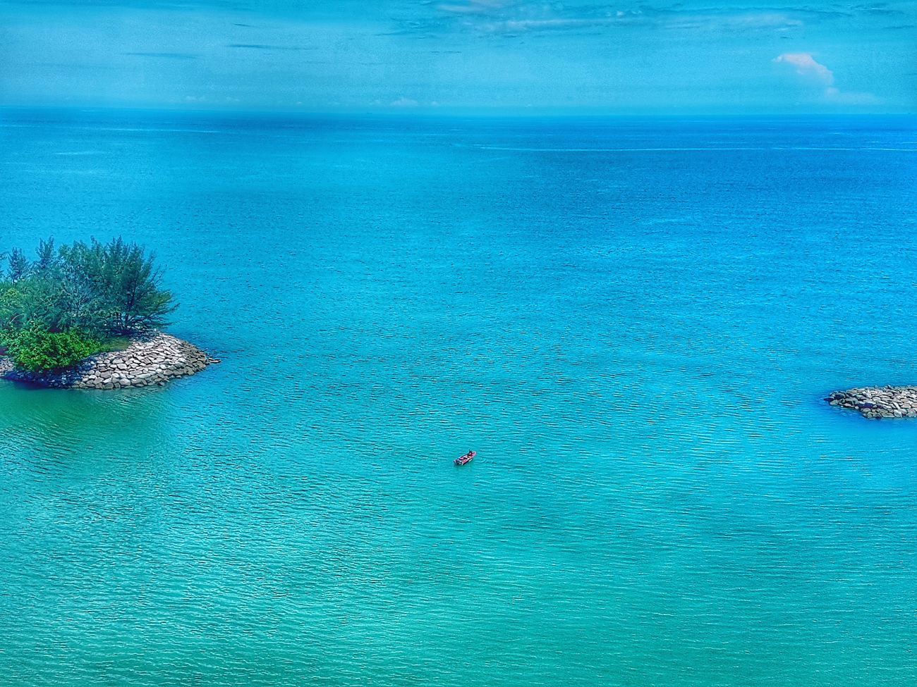 Sea Water High Angle View Beach Blue Day Scenics Nature Aerial View Outdoors Beauty In Nature Tranquil Scene Tranquility No People Summer Horizon Over Water UnderSea Turquoise Nature Photography Travel Photography Lost At Sea Alone Lonely Nature Pastel
