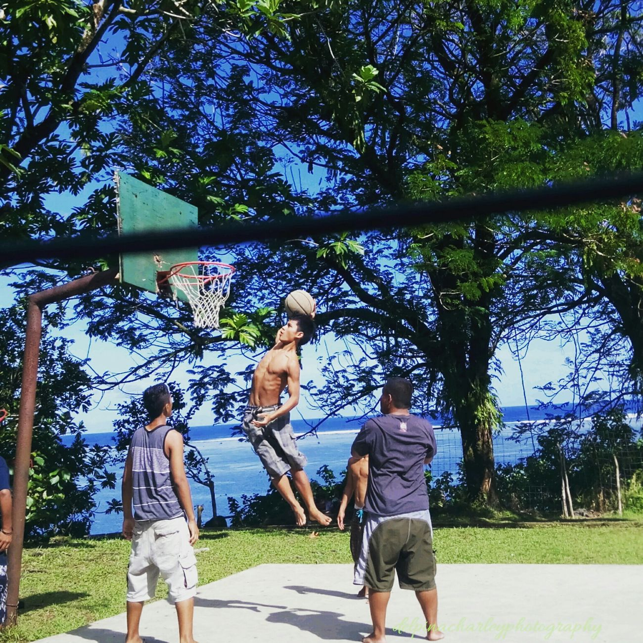 Sport In The City Check This Out Weekendretreat Taking Photos Kosrae Slamdunkcontest Islandboys Islandlife Capture The Moment Mountain Hiking