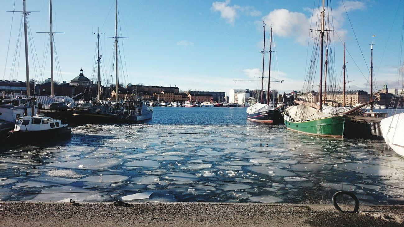 Sweden Stockholm стокгольм Швеция река корабль