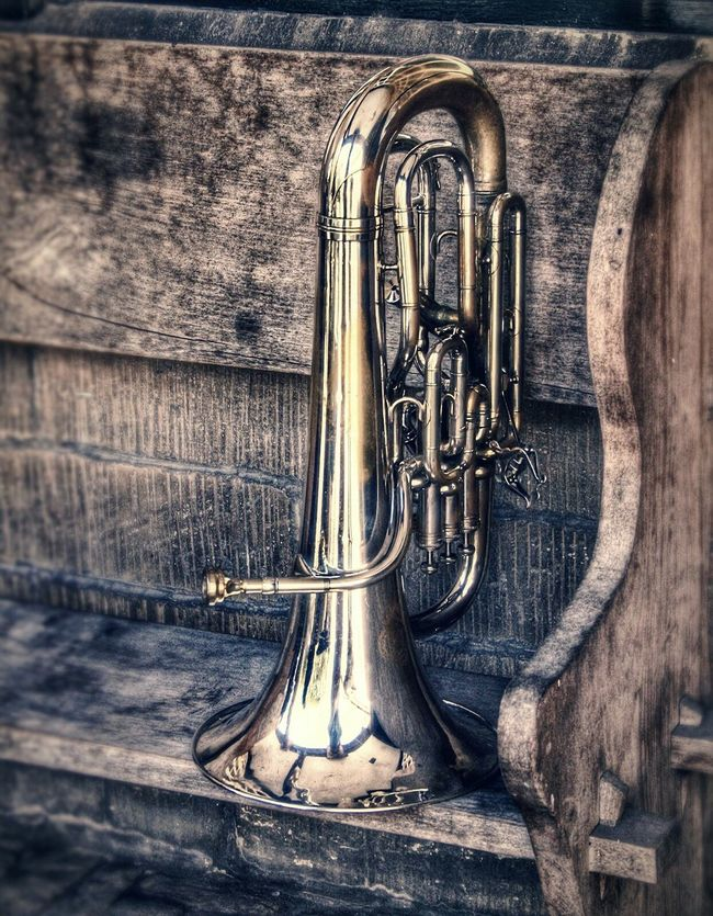 Wind Instruments Close Up Musical Instrument Brass Instruments