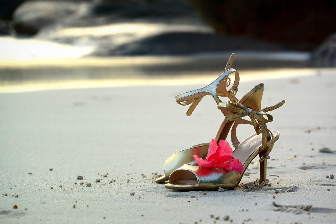 Beach Photography Beach Wedding Bride Shoes Sandals Tropical Wedding Wedding Photography Wedding Photos Wedding Shoes Wedding Theme Woman Shoes