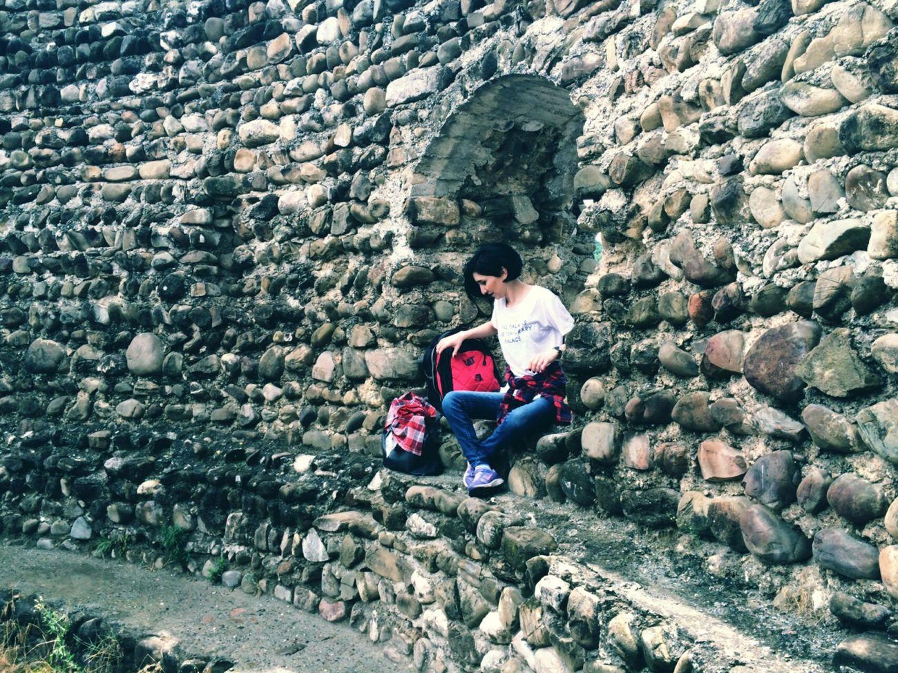 Kakheti Trip Stone Wall