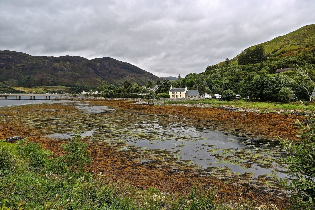 Atmospheric Mood Beauty In Nature Landscape Loch Duich Loch Duich In The Highlands Of Scotland Mountain Nature Scenics Scotland Scotland 💕 Scottish Highlands Tranquil Scene Tranquility Water