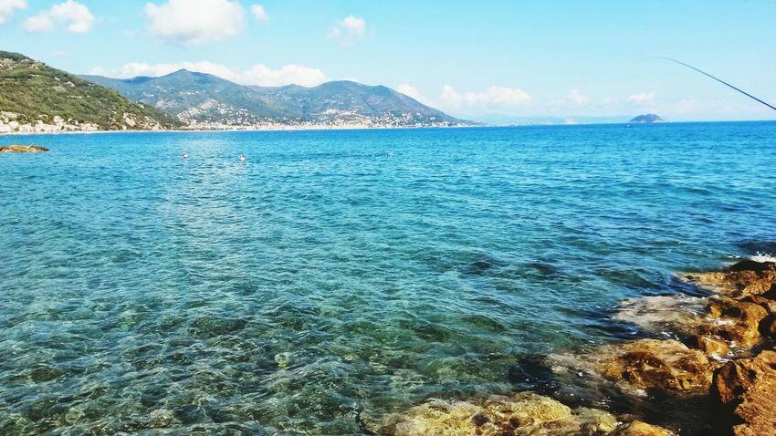 Mare Laigueglia Liguria Sea