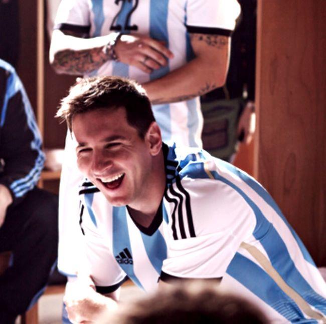 Sonrisa Linda Lionel Messi Argentina Football
