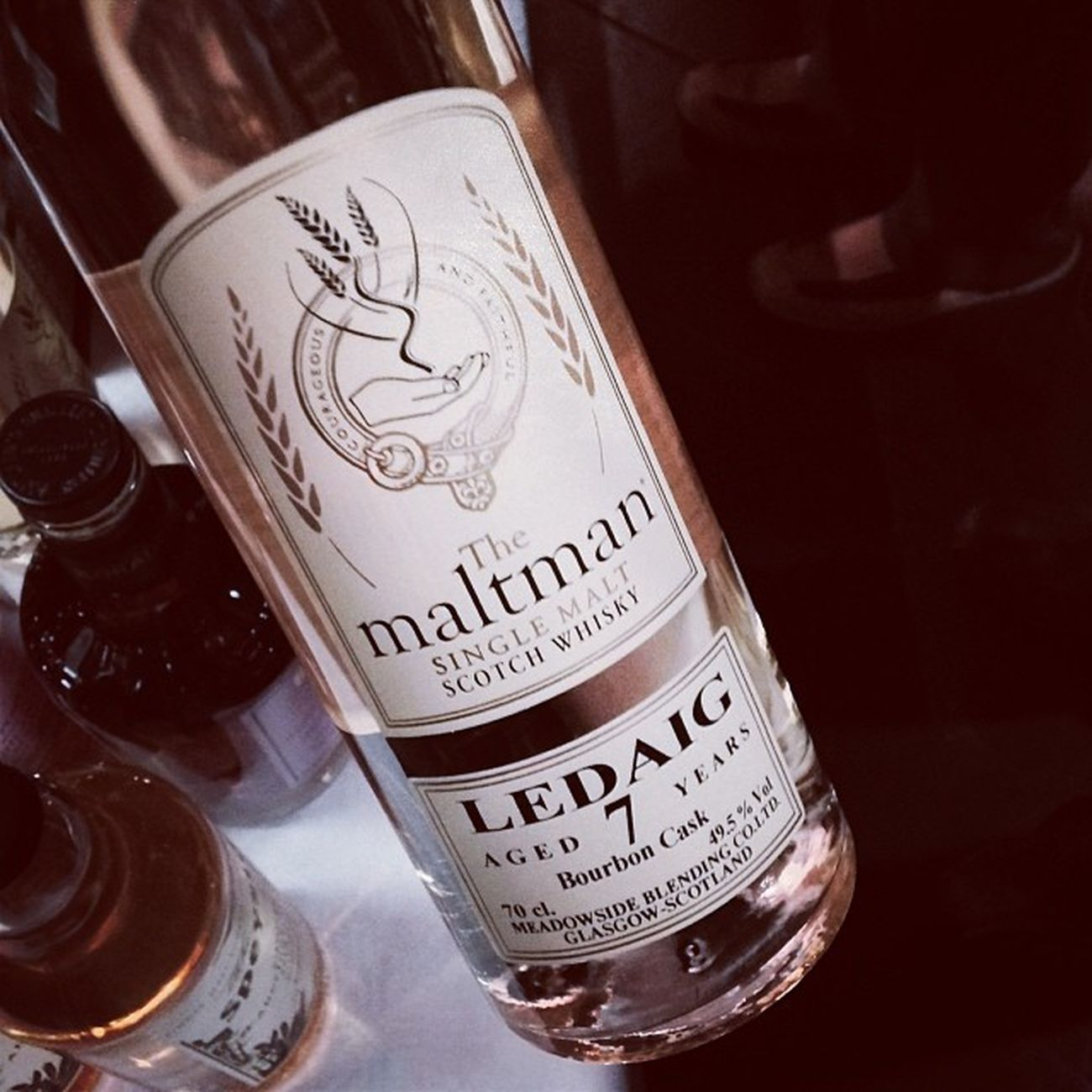 Nr. 4: Ledaig 7 Jahre, The Maltman... #whiskyzug Blumberg Themaltman Maltman Tasting Whiskytasting Scotland Whiskyzug Whisky Zollhaus Islemull Scotch Wutachtal 7years Ledaig Schottland 7jahre Singlemalt Tasteup Sauschwaenzlebahn Eisenbahnmuseum