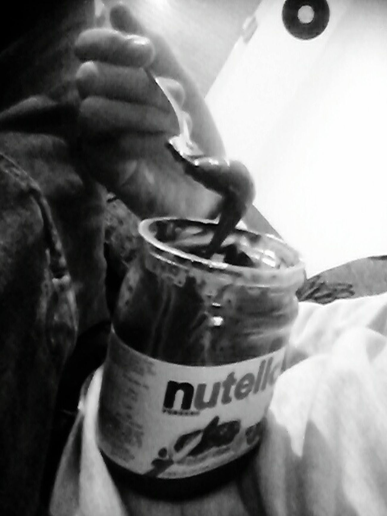 Nutella ♥ Yummmmmmmmy MmmMmmGood.. Eating Healthy Hahah  hahah