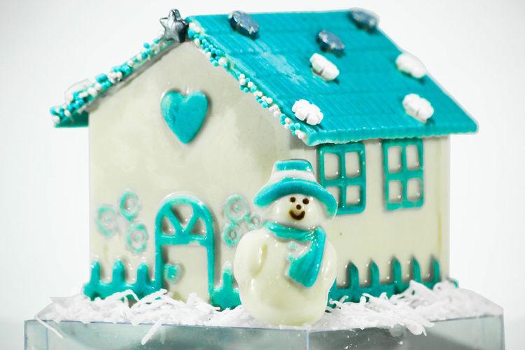 Christmas cakes Chocolate Chocolate♡ Xmas Decorations Chocolate Cake Close-up Day Gurmet Indoors  No People Snowman White Xmasday