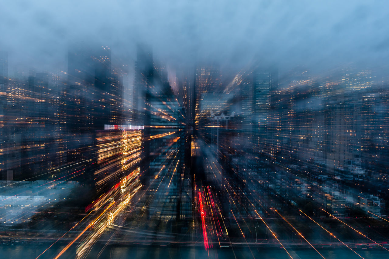 Beautiful stock photos of skyscrapers, Architecture, Blurred Motion, Building Exterior, Built Structure