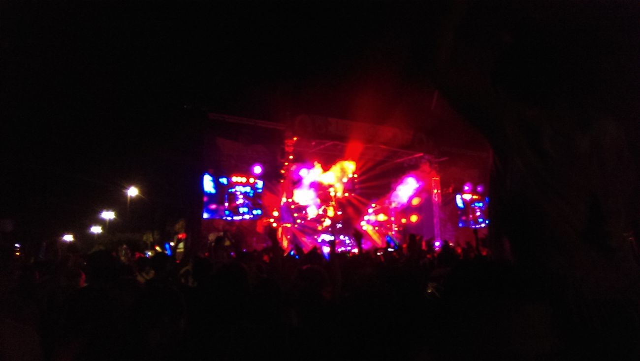 Life In Color at State Farm Arena on the 4th of July Mcallen Concerts Partying Hard Enjoying Life