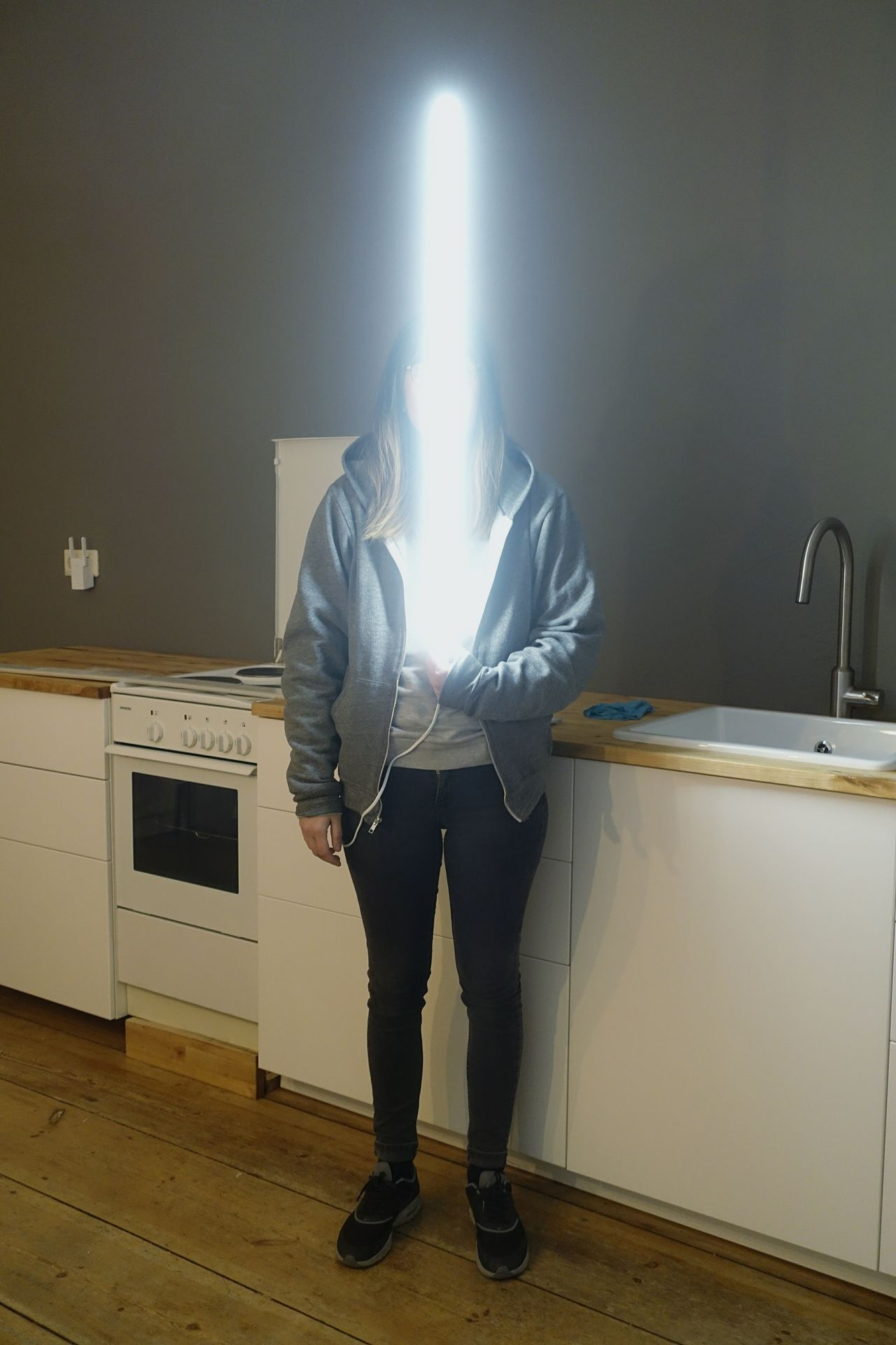 Lightsaber Girl Phantasy Fantasy Photography Starwars StarWars Collection Female Woman Playing Cosplay Hanging Out Check This Out Light The Force The Force Is Stong In This One Kitchen Room Play Showcase March Urban Myfavoriteplace People And Places Uniqueness Women Around The World