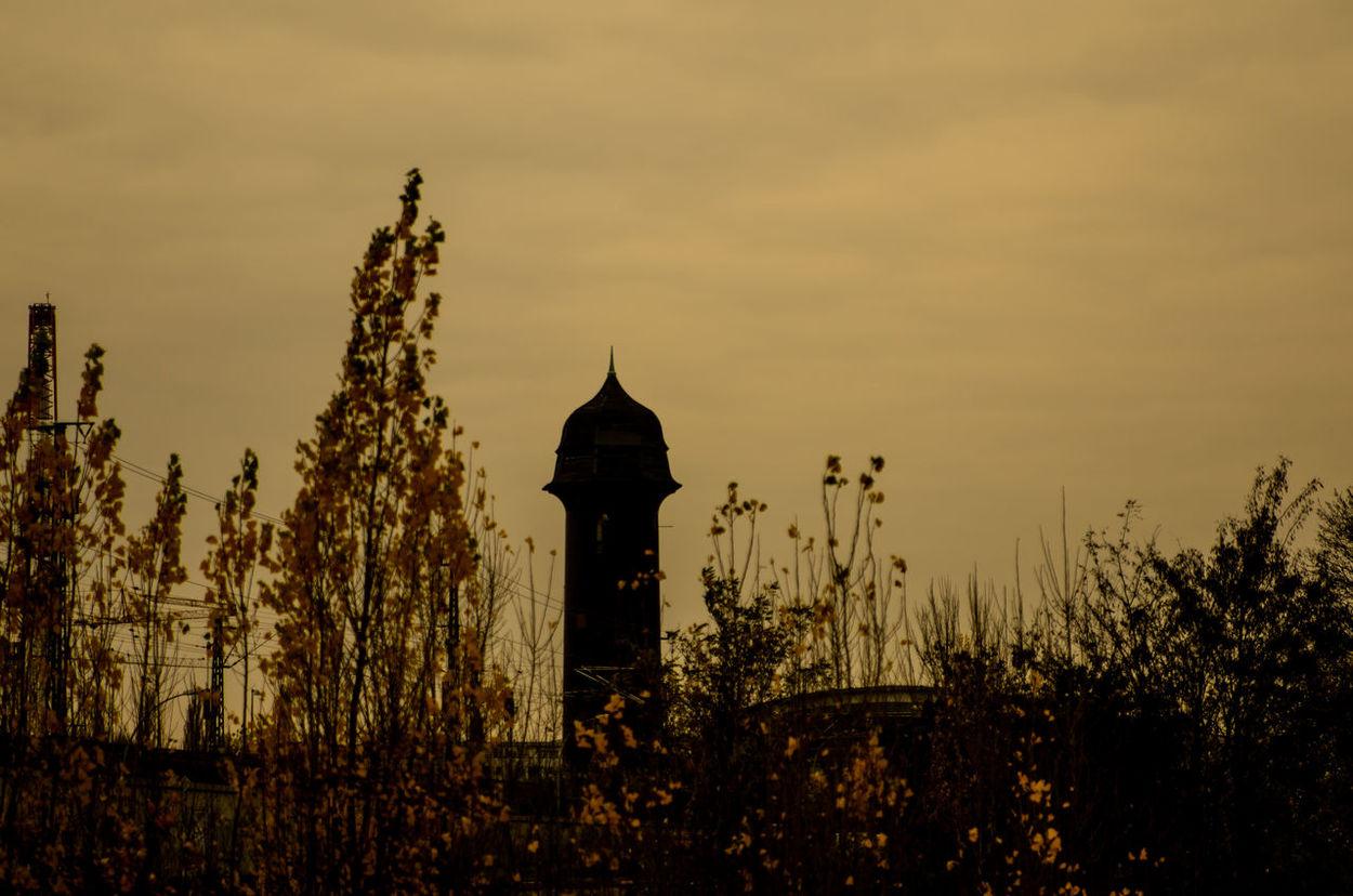 Berlin Ostkreuz Cityscape Cityscapes History Vintage Wasserturm