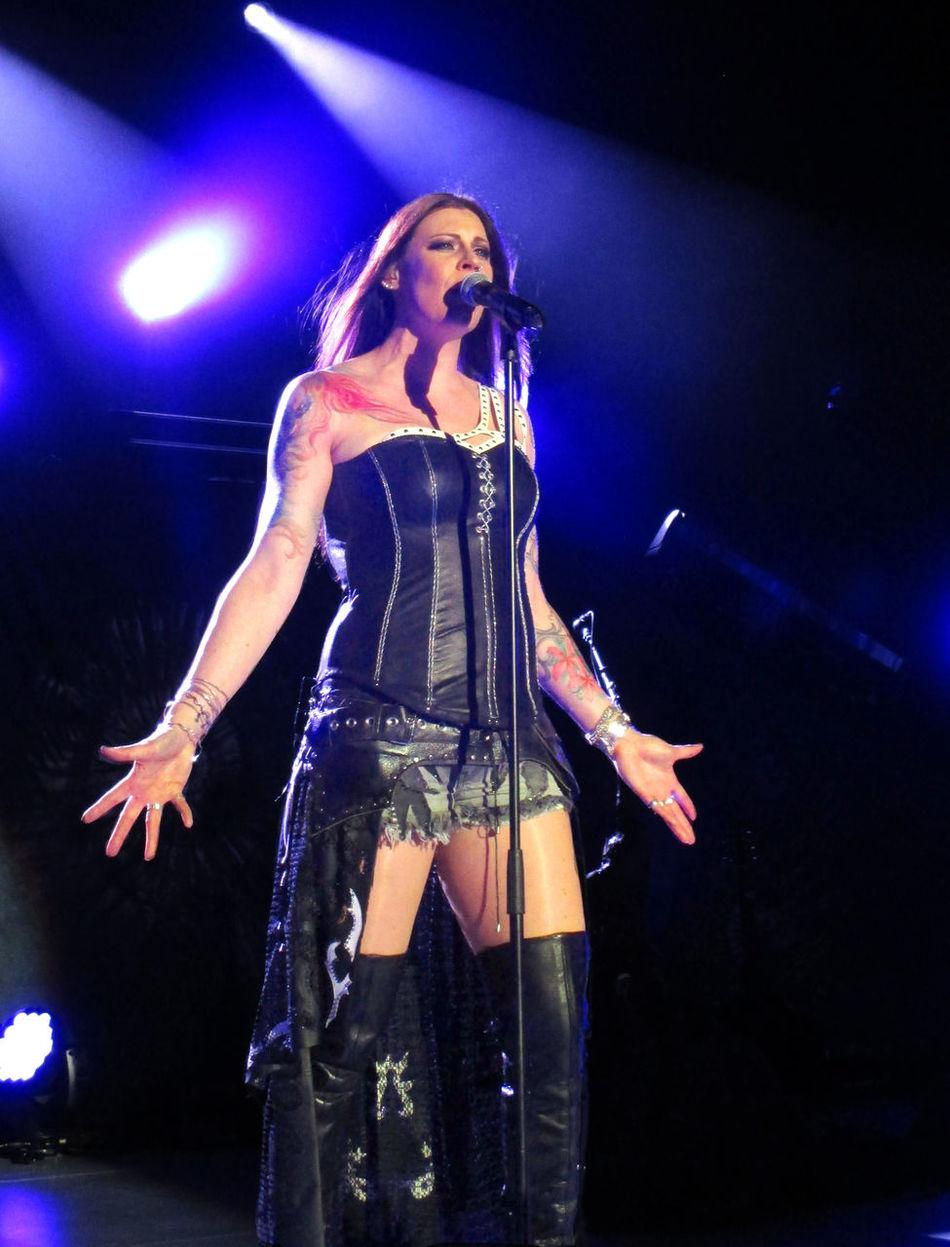 Arts Culture And Entertainment Concert Concert Photography Diva EyeEm Music Lover Floor Jansen Metal Nightwish Nightwish Concert Power Metal Singer