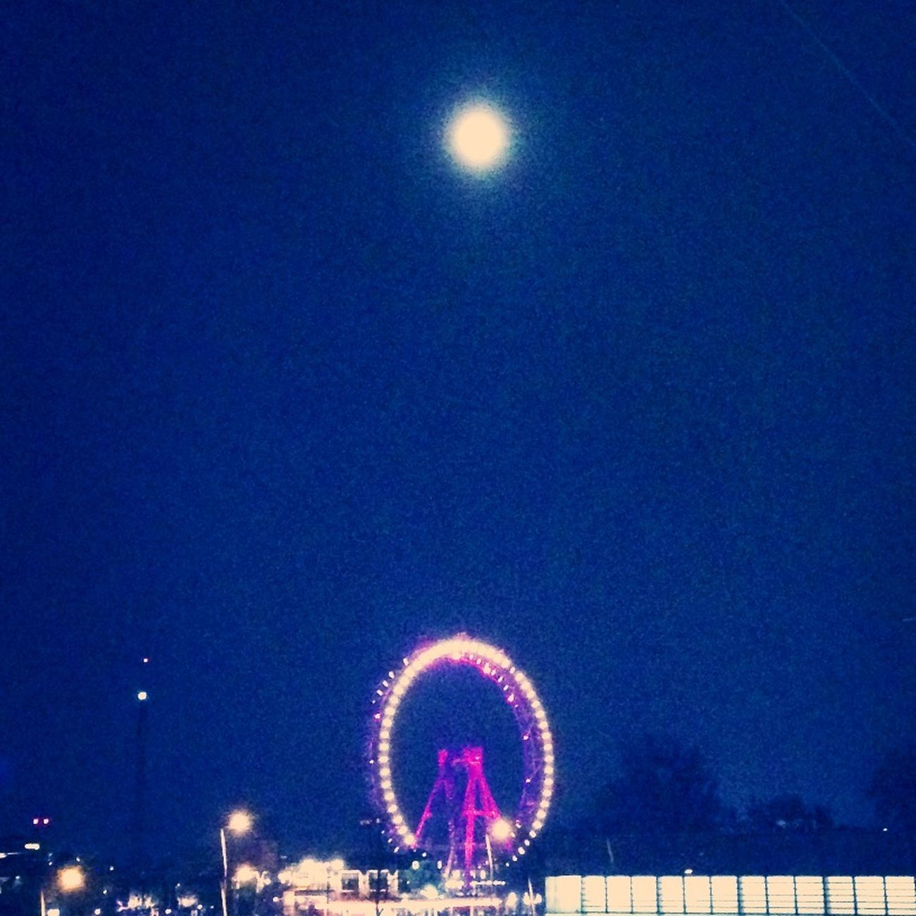 Night Moon Riesenrad