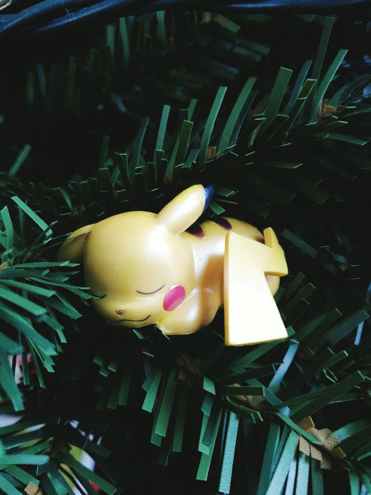 Close-up Day Pikachu Christmas Tree
