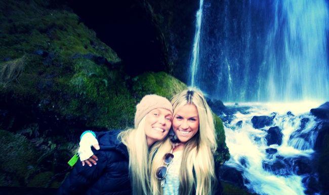 Waterfall Hike Beautiful Nature