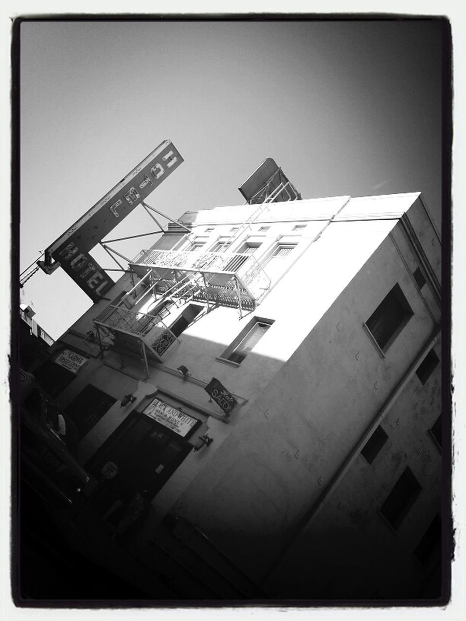 The Gilbert hotel. Tom Waits sings about this place, which means the place is crappy.