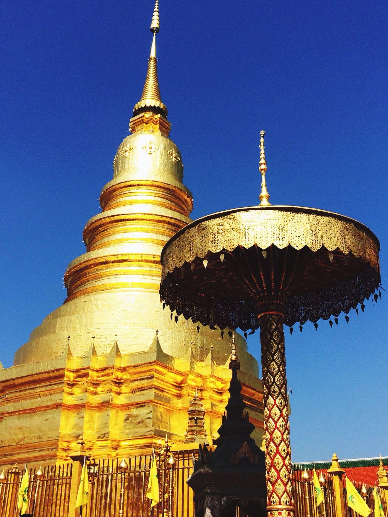 Wat Thailand Lamphun Traveling