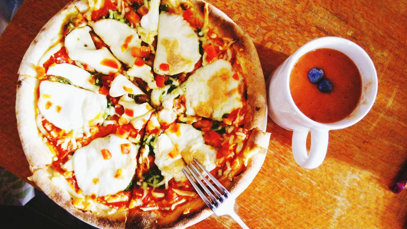 Pizza Australia Mango Shake Enjoying Life Yum Yum