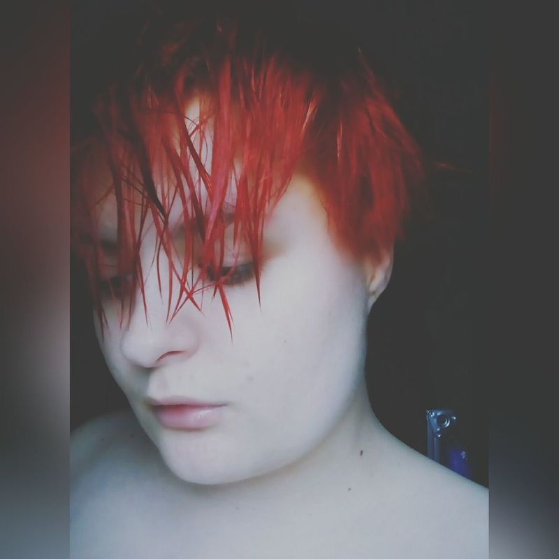 One Person Headshot Childhood Close-up Day Folowforfollow Kamiliote Eyesshadows Lips Redgirl RedHAIR ❤ Lithuaniangirl Lithuania Panevėžys One Young Woman Only Young Women Blush Girls AfterShower