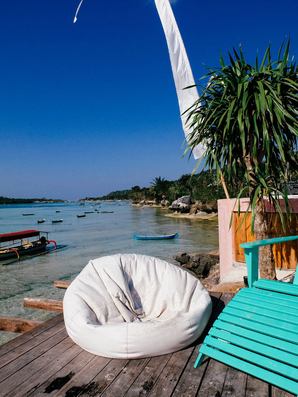 Beautiful stock photos of furniture, Beach, Beauty In Nature, Blue, Boat
