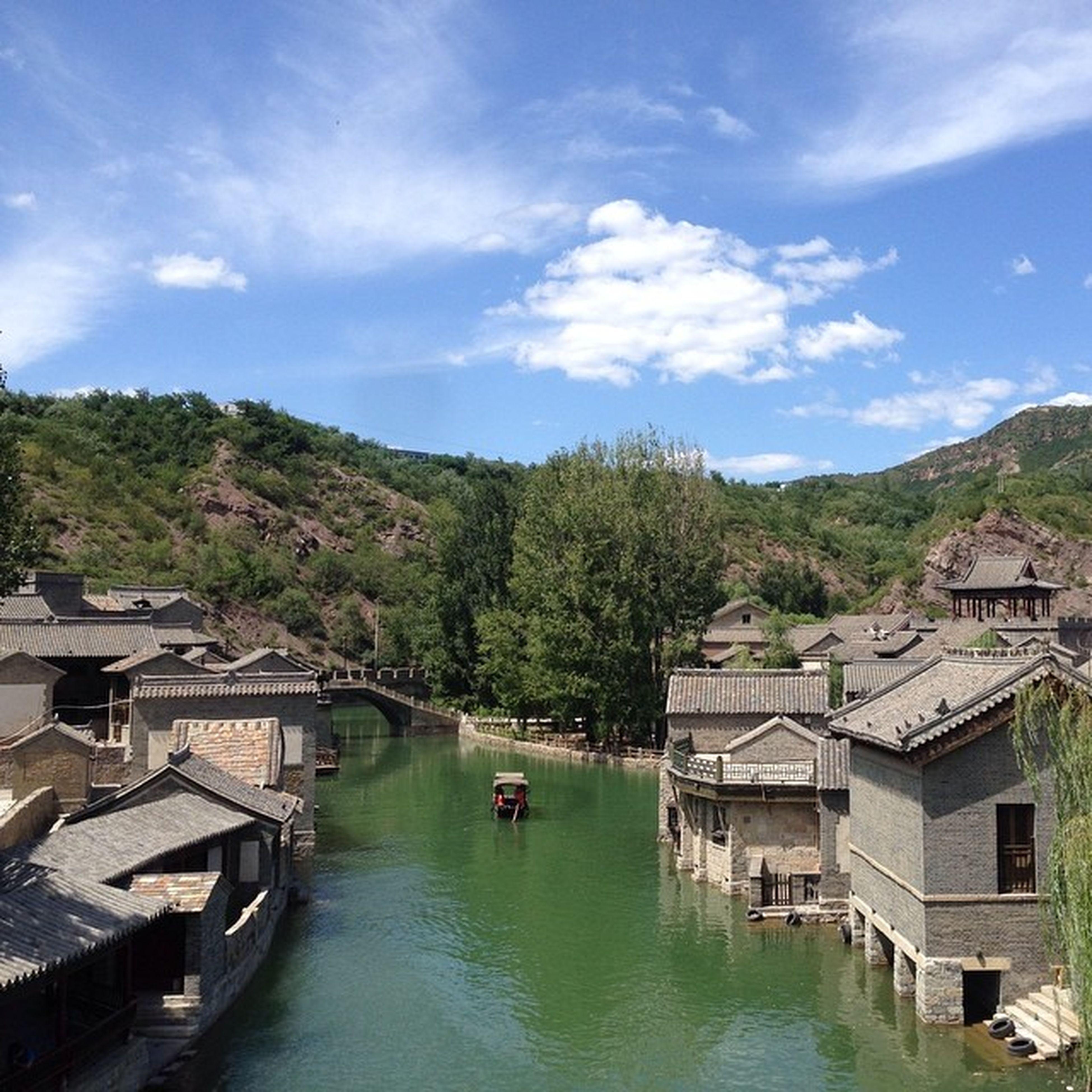 良辰美景中國 水鎮 風景