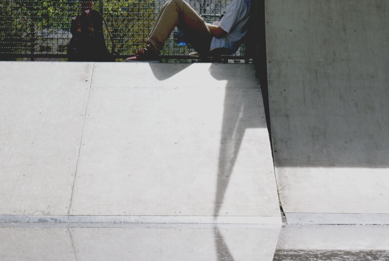 Skater At the break Teenager Untold Stories Streetphotography Light And Shadow Water Reflections Q Querdenker Getting Inspired Taking Photos Gangsters Paradise