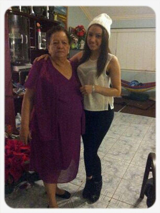 Grandma & I For New Years.