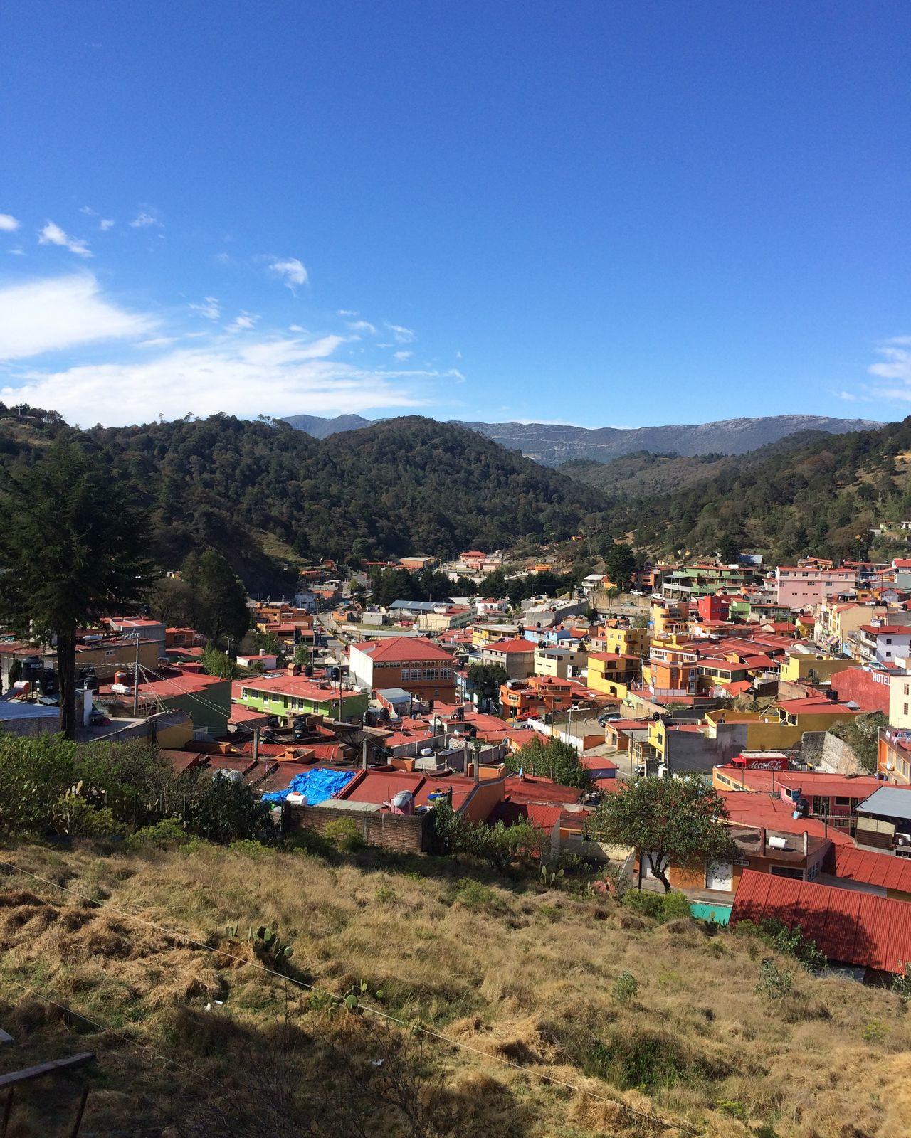 San Joaquín, Queretaro Landascape Bluesky Mountain Sierra Gorda, Queretaro