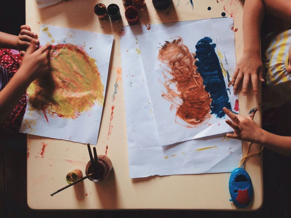 Beautiful stock photos of paint, Art And Craft, Artist, Child, Drawing