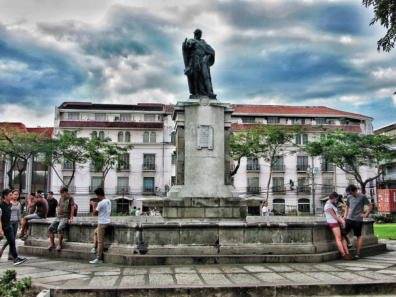 Monument of King Charles the IV of Spain Taking Photos EyeEm History Architecture Monuments Monuments Of The World Culture Manila Philippines Point And Shoot Snapspeed