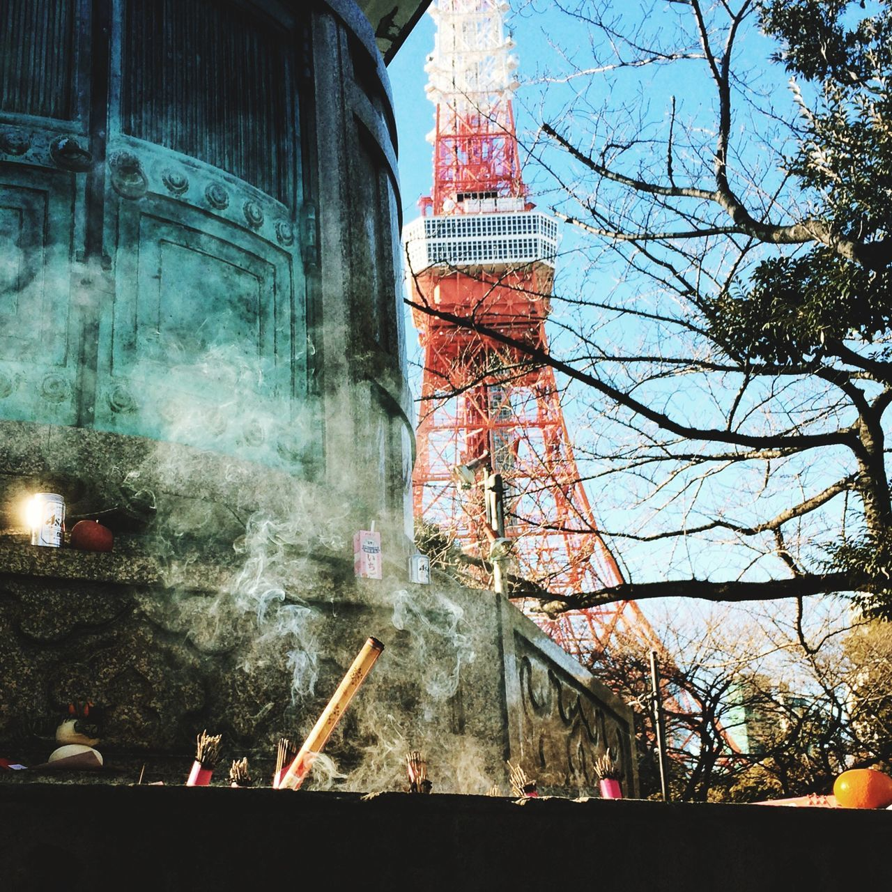 Incense Look Around  Japan Tokyo Tokyo Tower Walking Around Pennyforyourthoughts Streetphotography Urban Landscape Japanese Culture Smoke