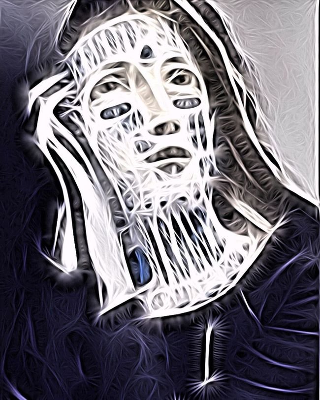 Branded Madonna Photographic Approximation Facial Experiments Surrealism Consumed By Consumption Human Condition