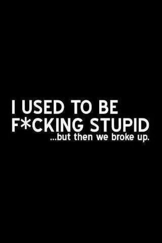 To My Ex Jus Cuzzzz Bad Me Memory SMDH