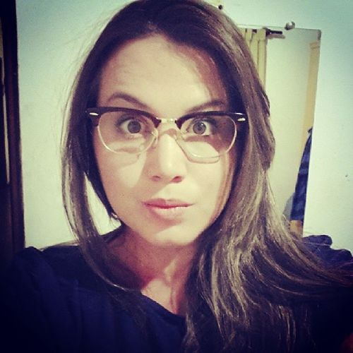 Agoraeserio Óculos  Ceguinha hahaha