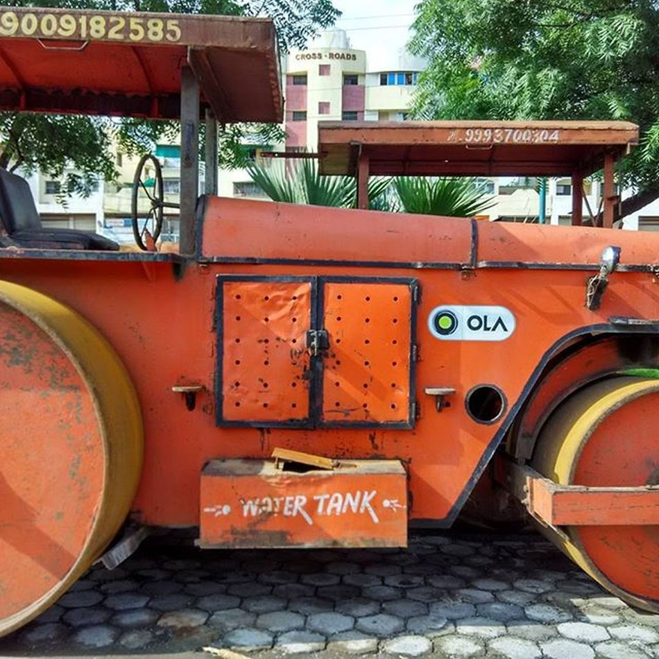 Now ola road roller is also available 😂😂😂😂Ola Roadroller Chutiyapa Indorediaries