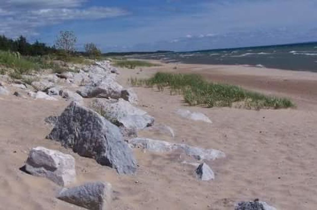 Lake Michigan Beach Sand Tranquil Scene Tranquility Water Beauty In Nature Nature Vacations Outdoor Photography Nature Noediting LoveNature