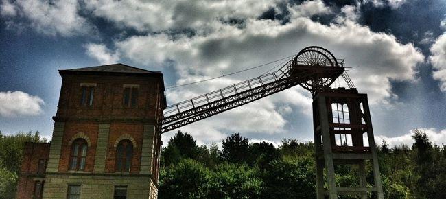 Mining Bestwood Country Park Bestwood Colliery Winding Wheel
